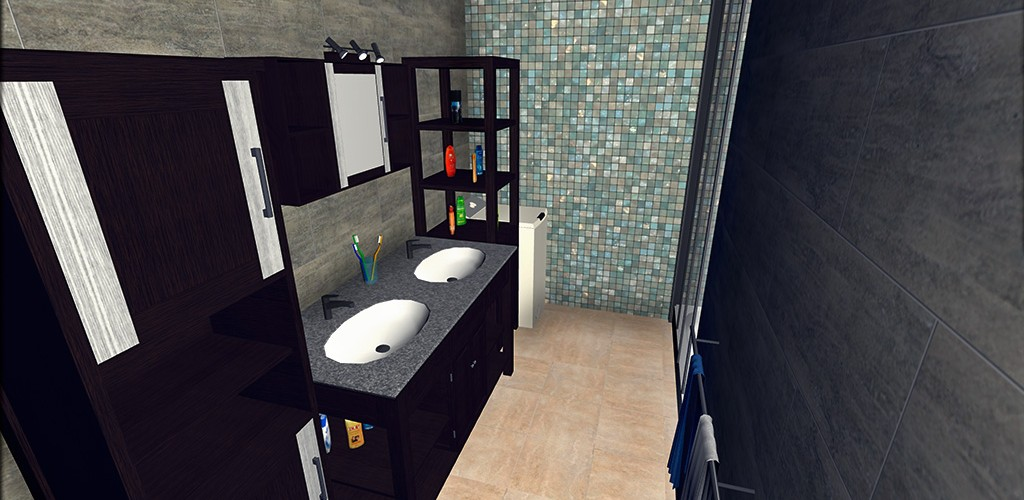 salle de bain keyplan 3d