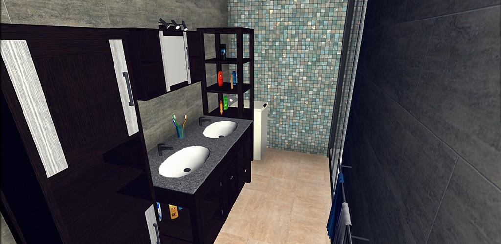 Salle de bain keyplan 3d for Salle de bain 3d