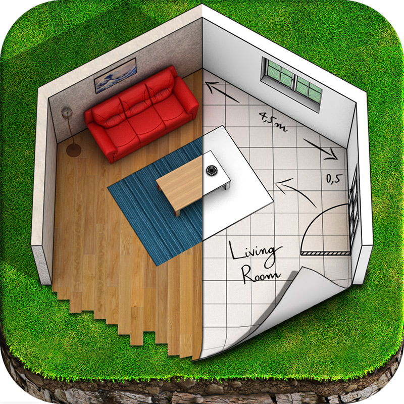 Keyplan 3d a new app for home design architecture and for Architecture design for home app