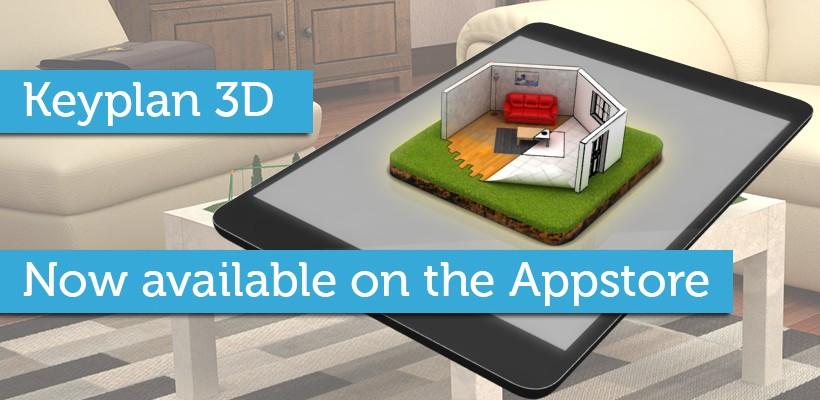 Keyplan 3D sur l'Appstore !