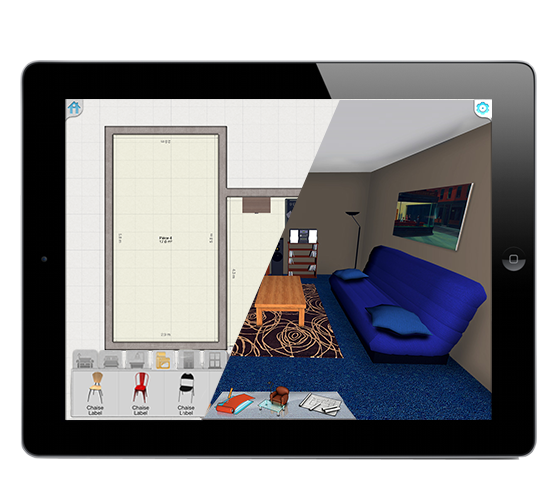 D Home Design Apps For IPad IPhone Keyplan D - Room design app