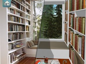 Reading corner réalisé par Keyplan 3D  catégorie inspiration