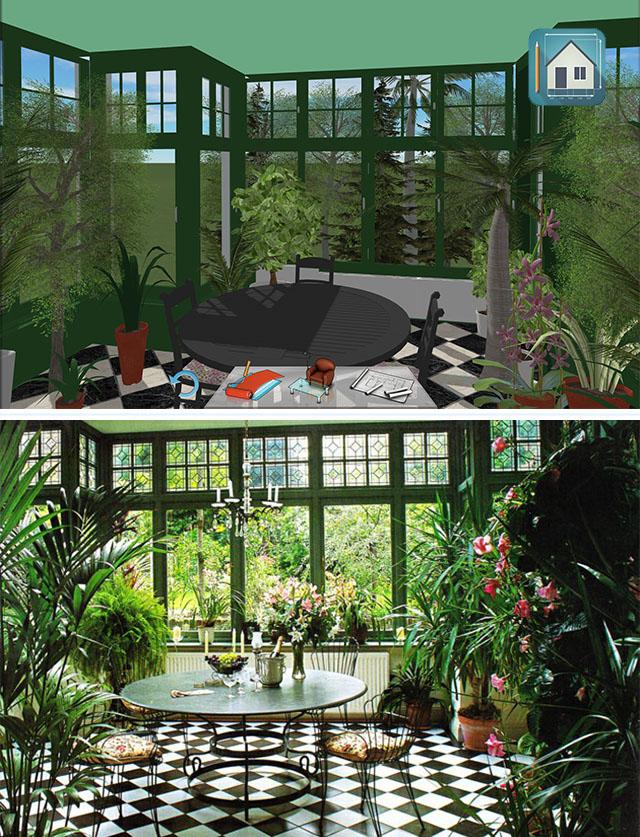 Inspiration jardin d 39 hiver keyplan 3d for Jardin d hiver