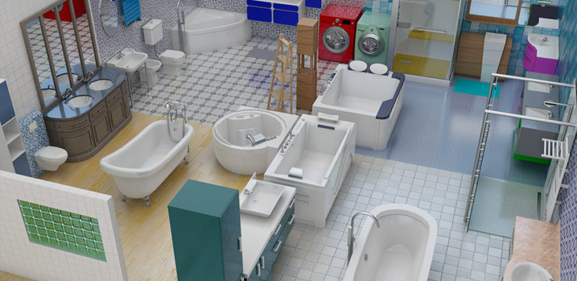 Bathroom pack is our new Interior Design Pack available
