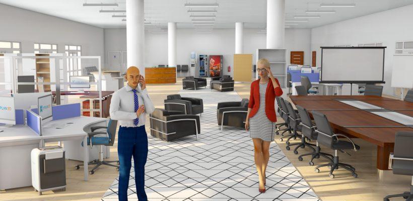 Office pack for Keyplan 3D
