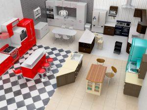 Pack kitchen decoration